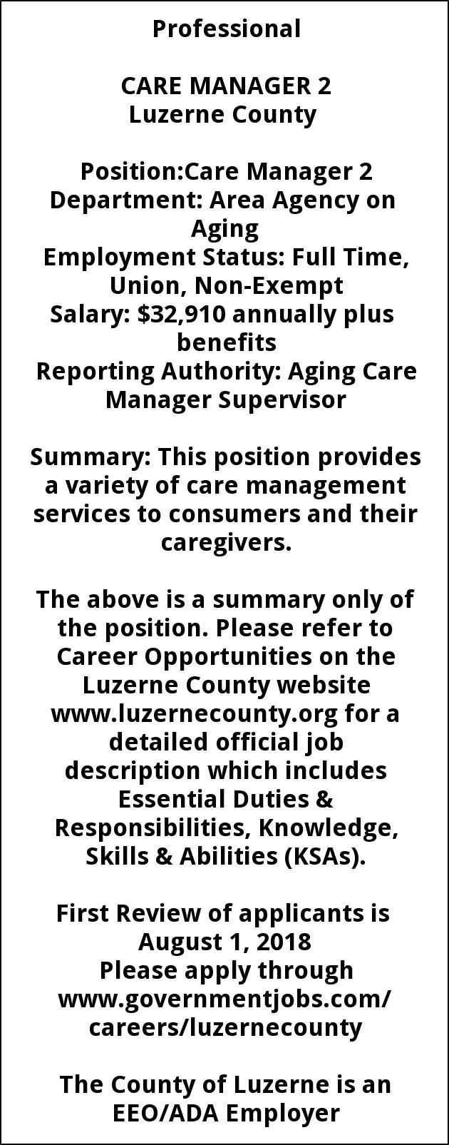 Care Manager 2