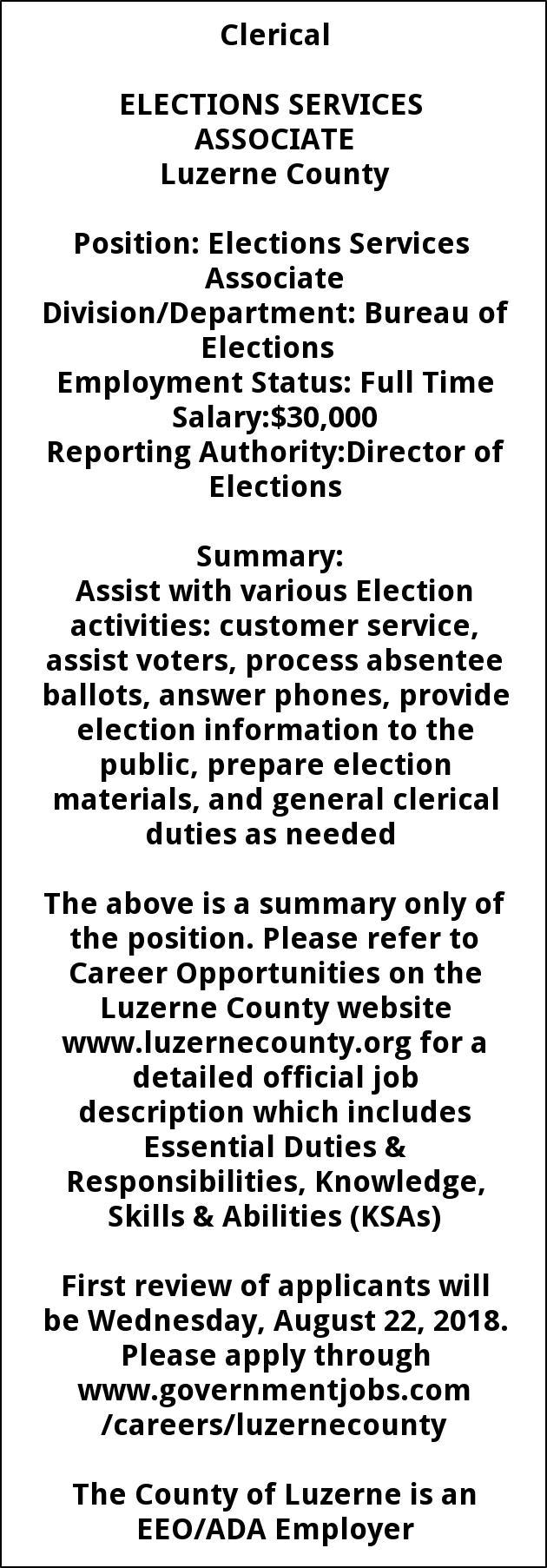 Elections Service Associates