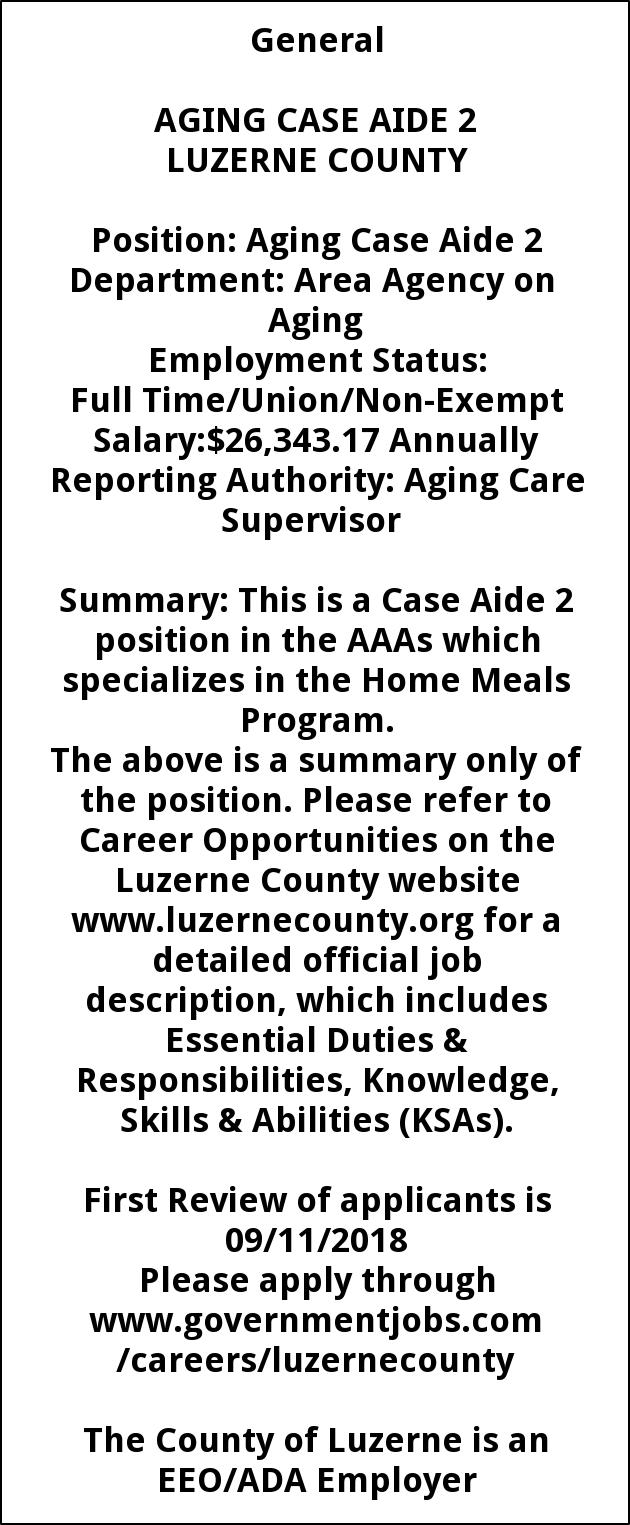 Aging Case Aide 2