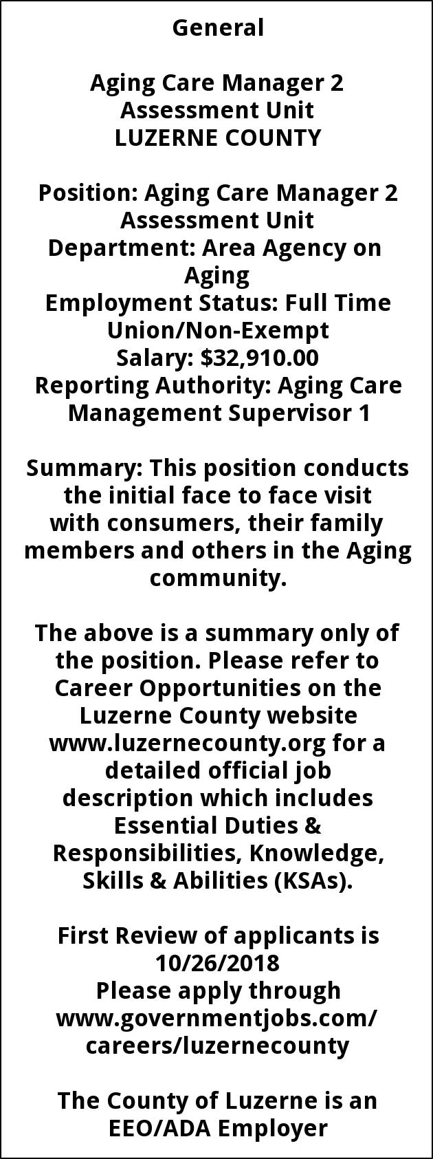 Aging Care Manager 2`