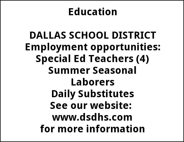 Teachers, Special Education,  Substitutes, seasonal laborers