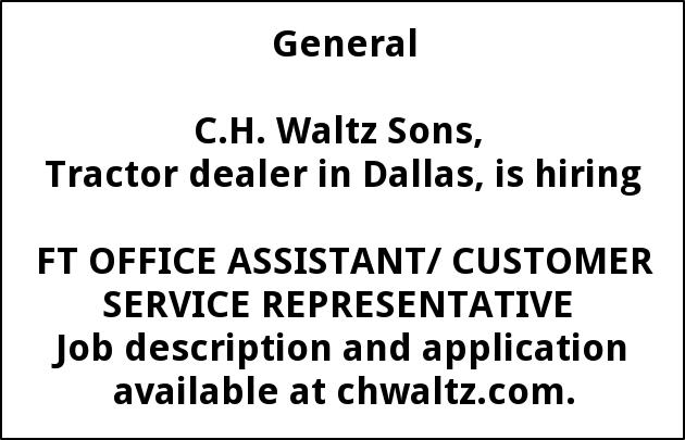 Office Assistant/Customer Service