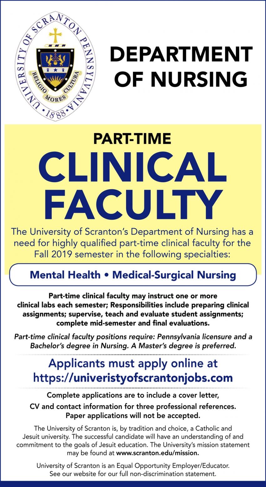 Mental Health, Medical-Surgical Nursing