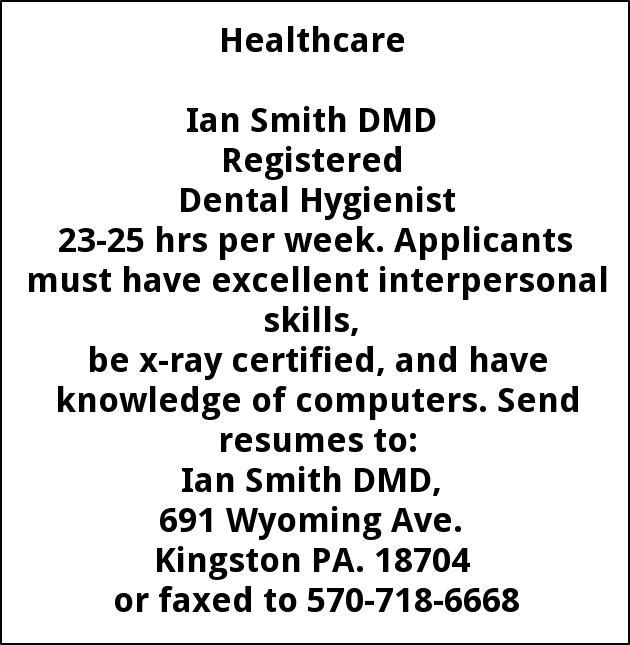 Dental Assistant & Dental Hygienist
